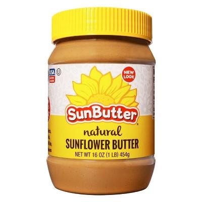 Peanut & Nut Butters: SunButter Natural