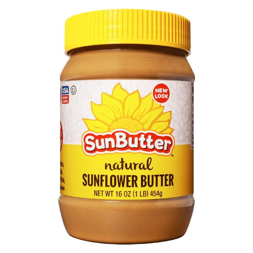 Sunbutter Natural Creamy Sunflower Butter 16oz