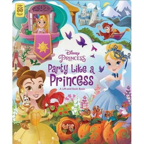 Disney Princess: Party Like a Princess - (Board_book) - image 1 of 1