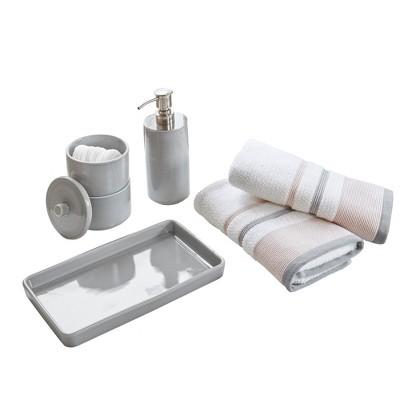 Bath Coordinate Set Gray
