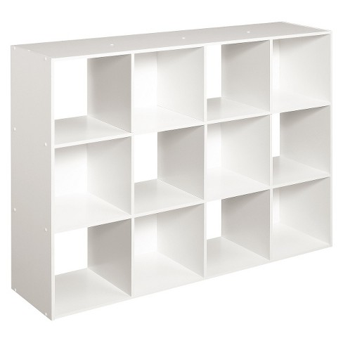 Closetmaid Cubeicals 12 Cube Organizer Shelf White Target