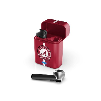 NCAA Alabama Crimson Tide True Wireless Bluetooth Stem Earbuds