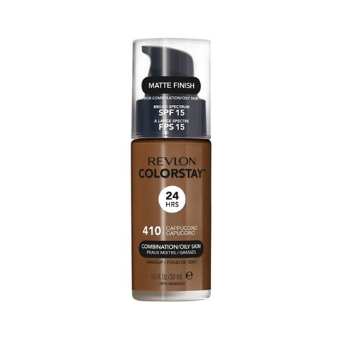 Revlon ColorStay Makeup For Combination/Oily Skin with SPF 15 410 Cappuccino - image 1 of 4