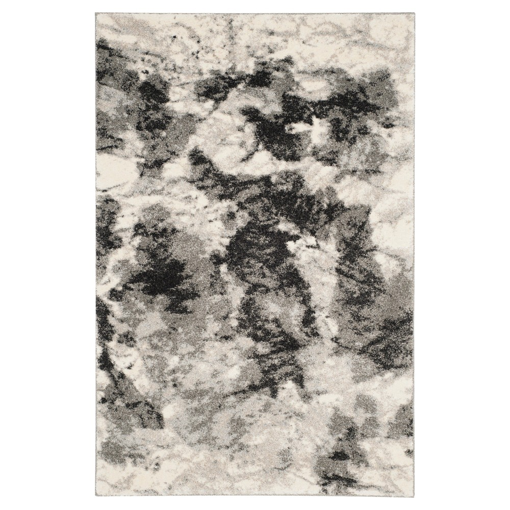 Marlon Area Rug - Cream / Gray ( 4' X 6' ) - Safavieh, Beige