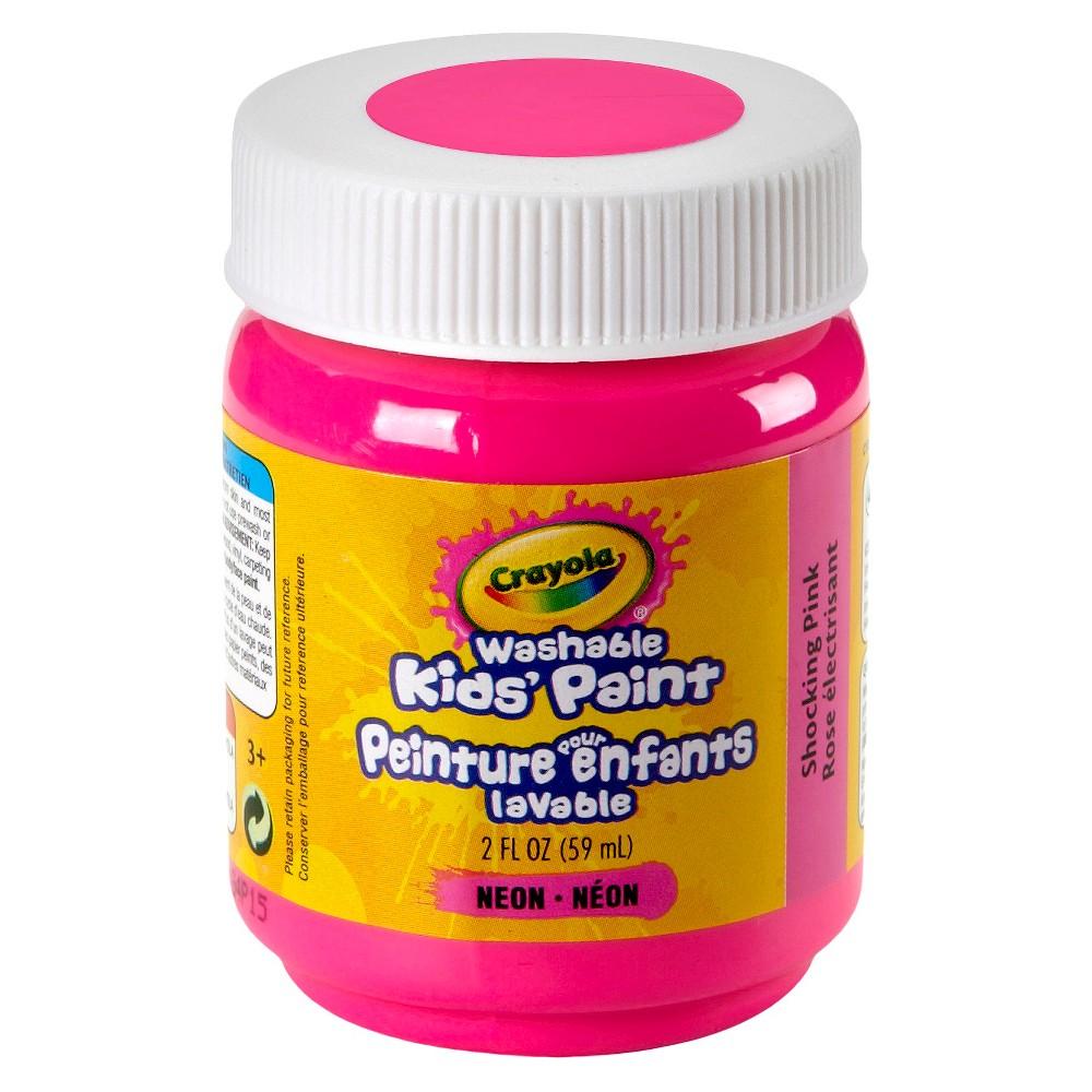 Crayola Washable Paints 2oz Shocking Pink