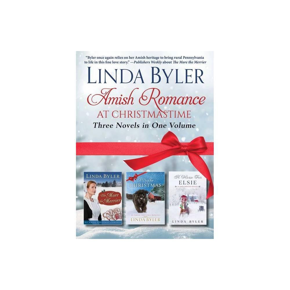 Amish Romance At Christmastime By Linda Byler Paperback
