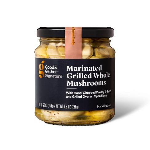 Signature Marinated Grilled Mushrooms - 9.8oz - Good & Gather™ - image 1 of 4