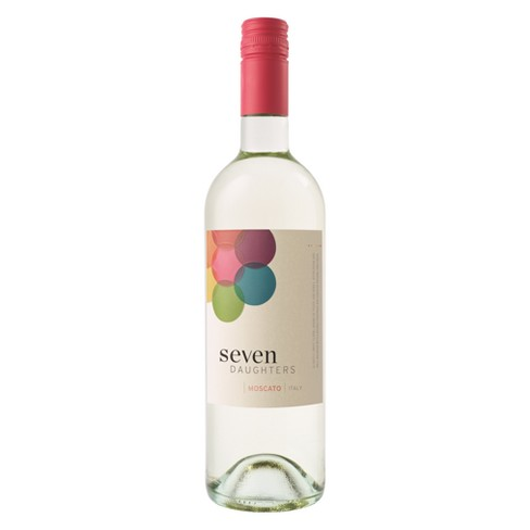 Seven Daughters Moscato White Wine - 750ml Bottle - image 1 of 1