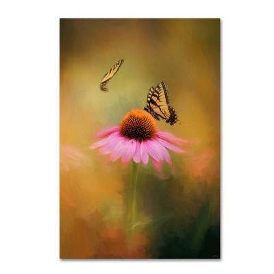"""12"""" x 19"""" Butterflies At Play by Jai Johnson - Trademark Fine Art"""