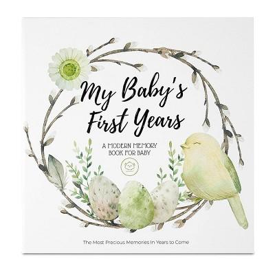 KeaBabies Baby First 5 Years Memory Book Journal