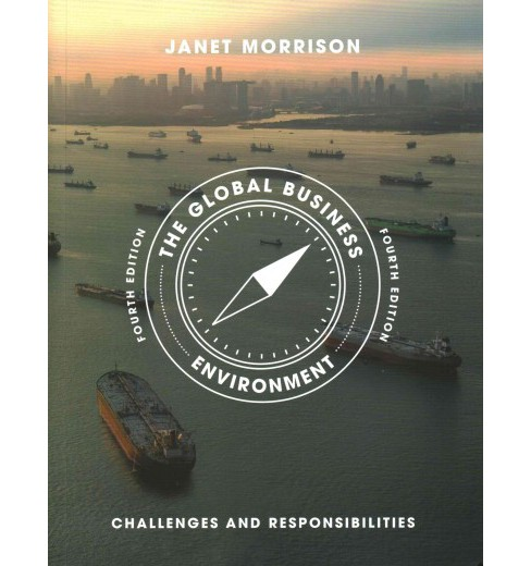 Global Business Environment : Challenges and Responsibilities (Paperback) (Janet Morrison) - image 1 of 1