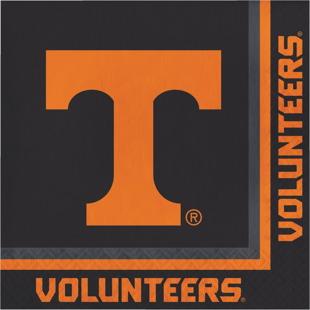 Image of 20ct Tennessee Volunteers Napkins