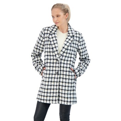 Sebby Collection Women's Topper Coat