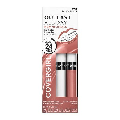 COVERGIRL Outlast All Day Lip Color with Top Coat Lipgloss - 0.07 fl oz