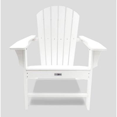 Hampton Poly Outdoor Patio Adirondack Chair - LuXeo