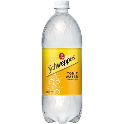 Schweppes Tonic Water - 1 L Bottle
