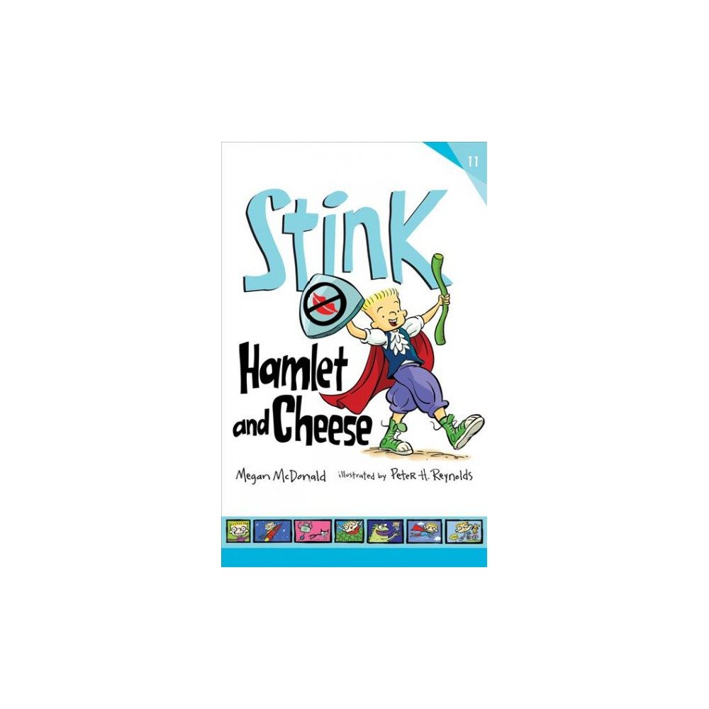 Hamlet and Cheese : Library Edition - Unabridged (Stink) by Megan McDonald (CD/Spoken Word)