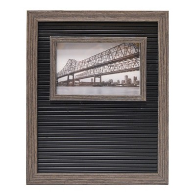 6 x4  Letter Board Frame Decorative Wall Art Black - Room Essentials™