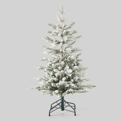 3.5ft Unlit Flocked Balsam Fir Artificial Christmas Tree - Wondershop™