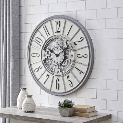 Montevallo Farmhouse Gears Clock - FirsTime
