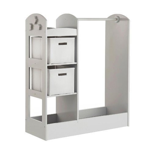 """Clothing Armoire 42"""" Gray - Guidecraft - image 1 of 4"""