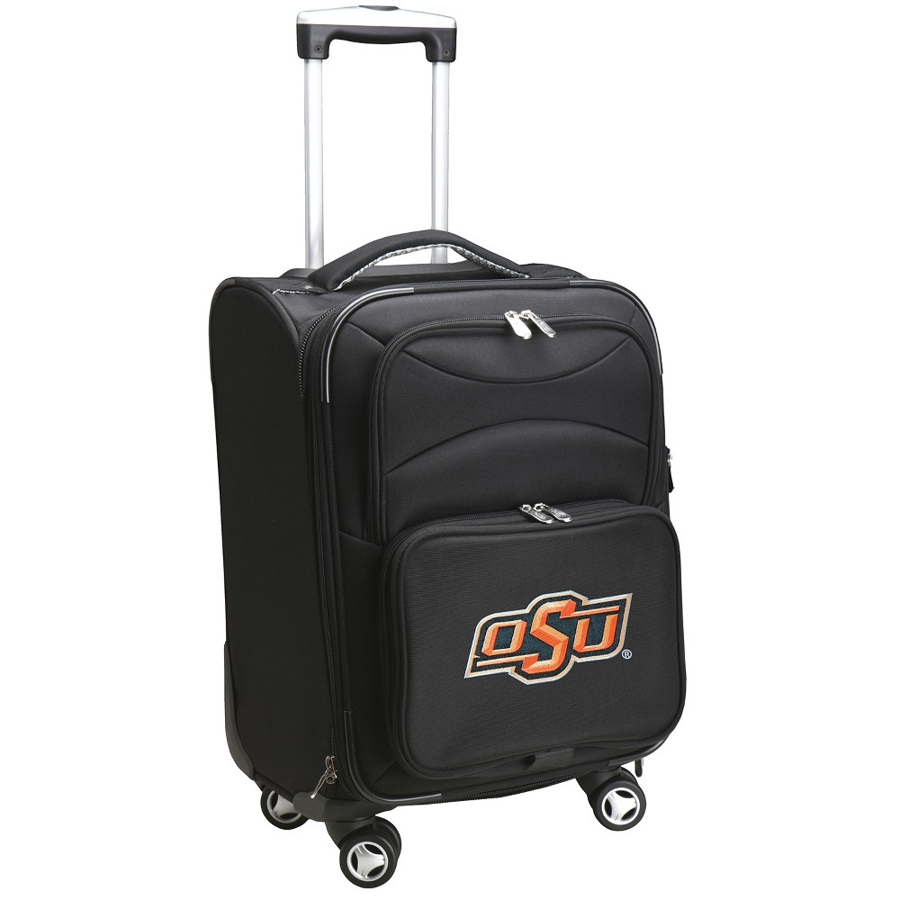 NCAA Oklahoma State Cowboys Spinner Carry On Suitcase