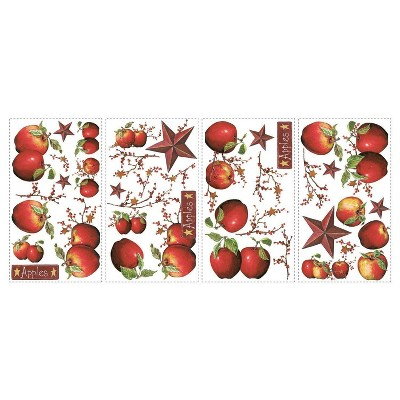 Country Apples Peel and Stick Wall Decal - RoomMates