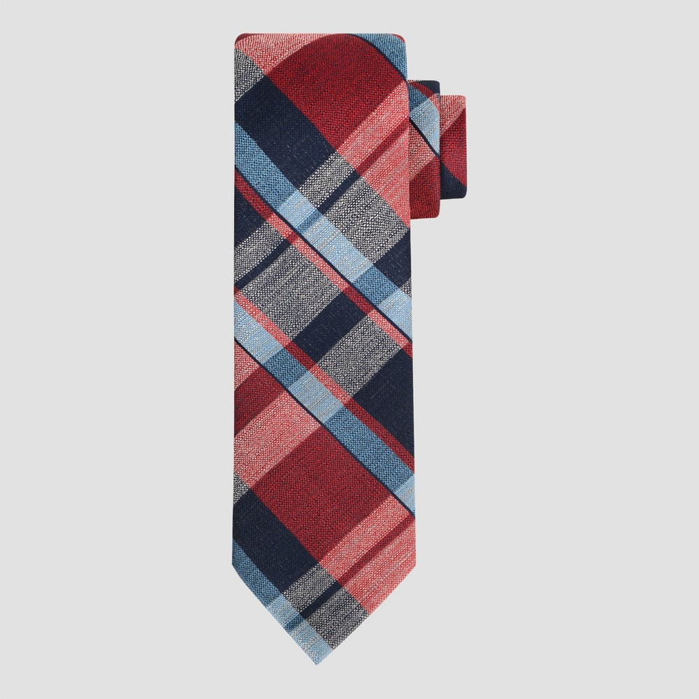 Men's Plaid Copper Necktie - Goodfellow & Co Red One Size
