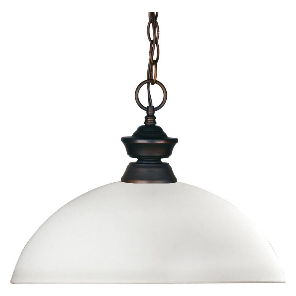 Pendant with Matte Opal Glass Ceiling Lights - Z-Lite