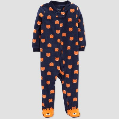 Baby Boys' Tiger Sleep 'N Play - Just One You® made by carter's Navy 3M