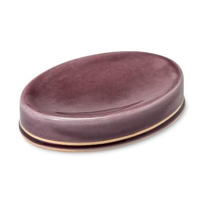 Ceramic Soap Dish Purple - Threshold™