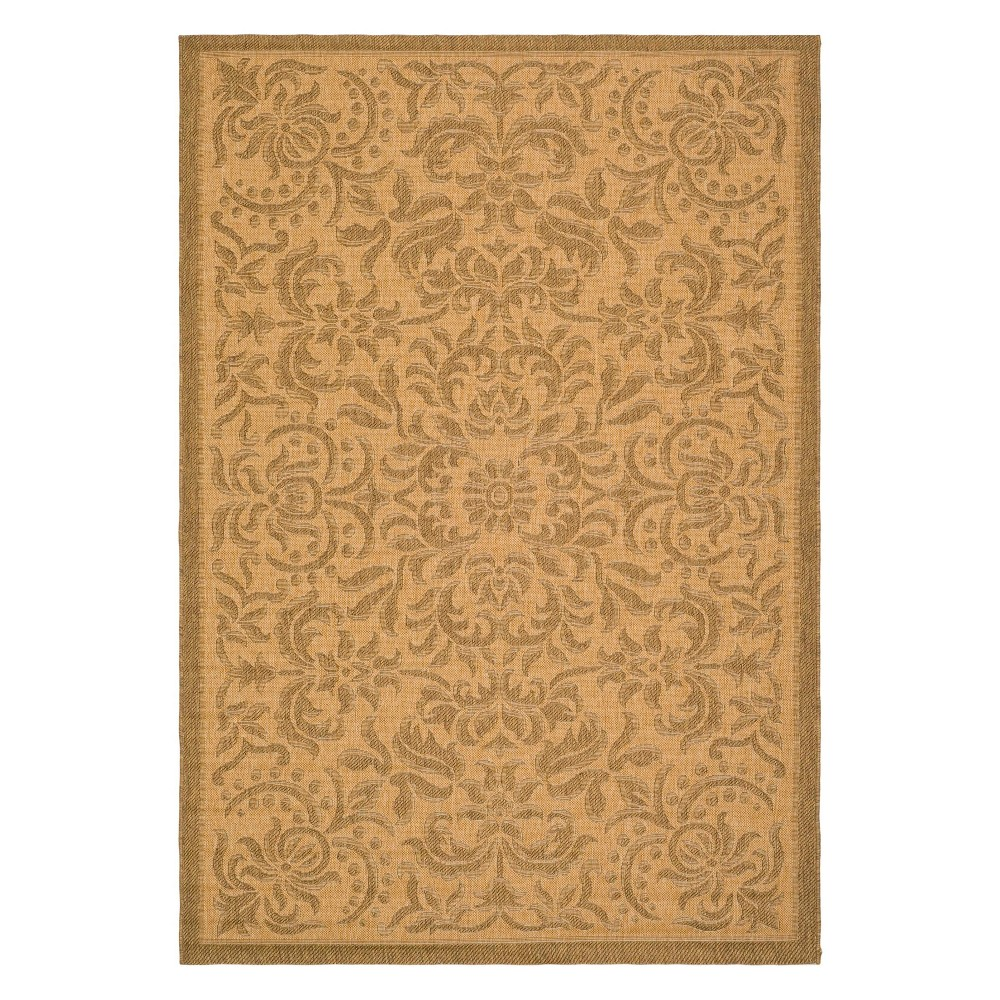 Durrant Rectangle 9' X 12' Outer Patio Rug - Natural / Gold - Safavieh, Natural/Gold