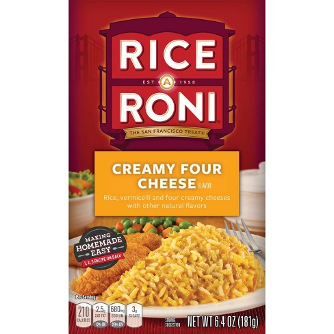 Rice A Roni Creamy Four Cheese Rice - 6.4oz - image 1 of 4