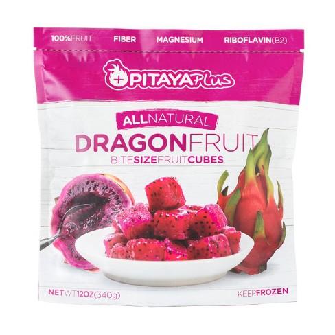 Pitaya Plus Frozen Dragon Fruit Cubes - 12oz - image 1 of 1
