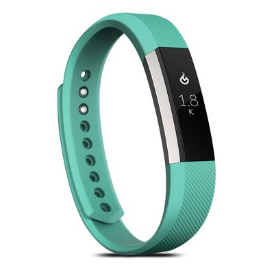 Zodaca For Fitbit Alta - Small S Size TPU Rubber Wristband Replacement Sports Watch Wrist Band Strap - Mint Green