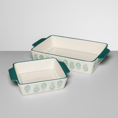 2pk Indo Chic Ceramic Bakeware Set - Opalhouse™