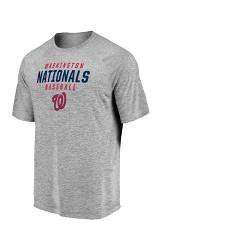 d83c8907fa0 Washington Nationals Men s Mad Dash Gray Athleisure T-Shirt - XXL