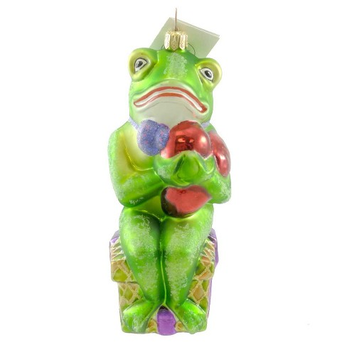 Christopher Radko Frog Of My Heart Ornament Love Present - image 1 of 2
