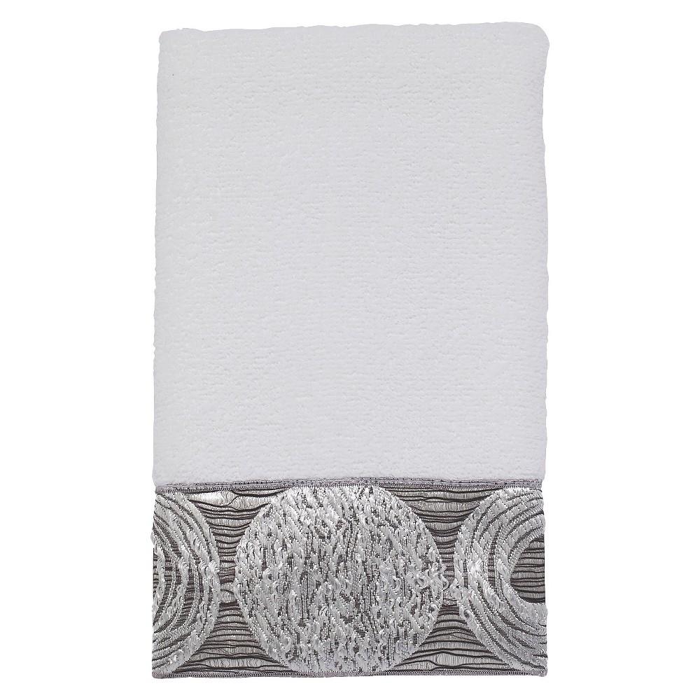 Avanti Galaxy Hand Towel - White