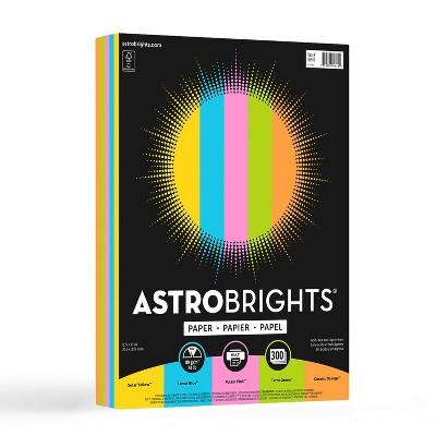 Astrobrights Color Paper 8.5 x 11 24 lb/89 91642