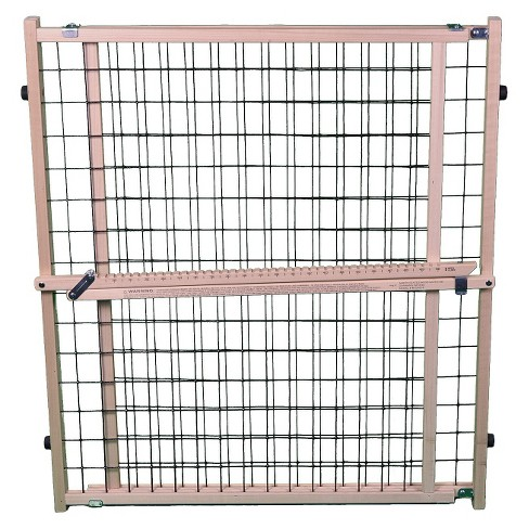 "MyPet Extra Wide Wire Mesh Dog Gate - 29.5""-50 - Brown - image 1 of 2"