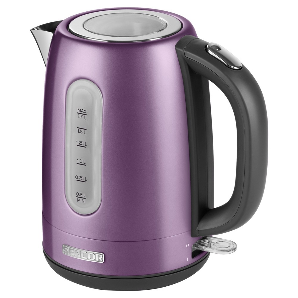 Sencor Metallic 1.7L Stainless Steel Electric Kettle – Violet (Purple) 54281522