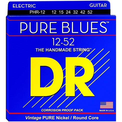 DR Strings PHR12 Pure Blues Nickel Extra Heavy Electric Guitar Strings - image 1 of 1