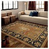 """Tan Solid Woven Area Rug - (5'3""""X7'6"""") - Orian - image 4 of 4"""