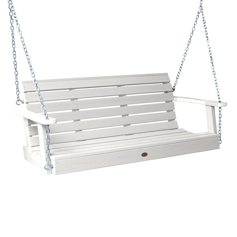 Weatherly Porch Swing 5ft White - Highwood