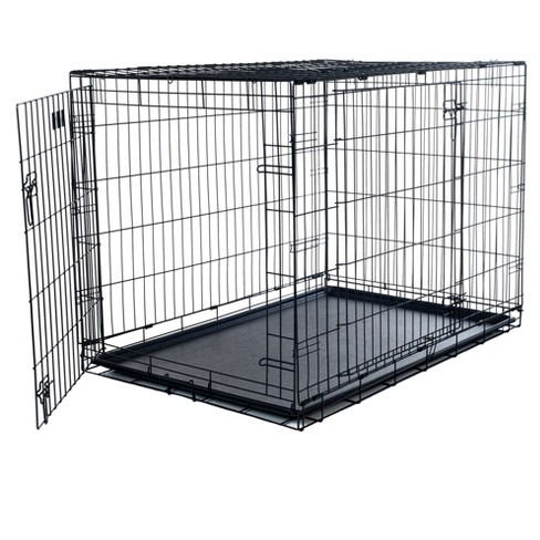 PETMAKER 2 Door Foldable Dog Crate Cage - Small - image 1 of 3