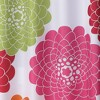 Stella Floral Shower Curtain - Pink - image 2 of 2