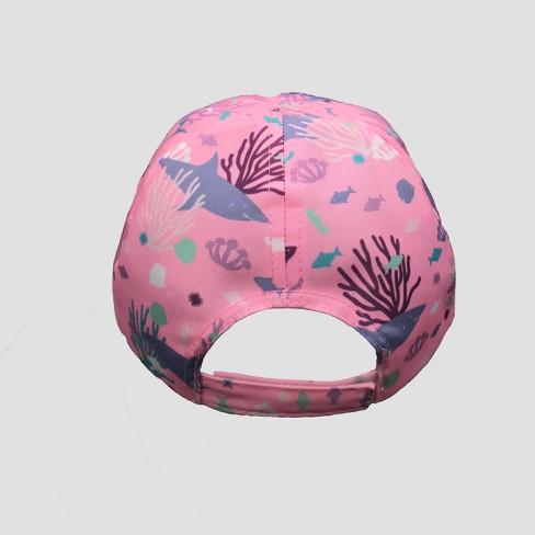 78e8a6b3ba0 Toddler Girls  Under The Sea Baseball Hat - Cat   Jack™ Pink 2T-5T   Target