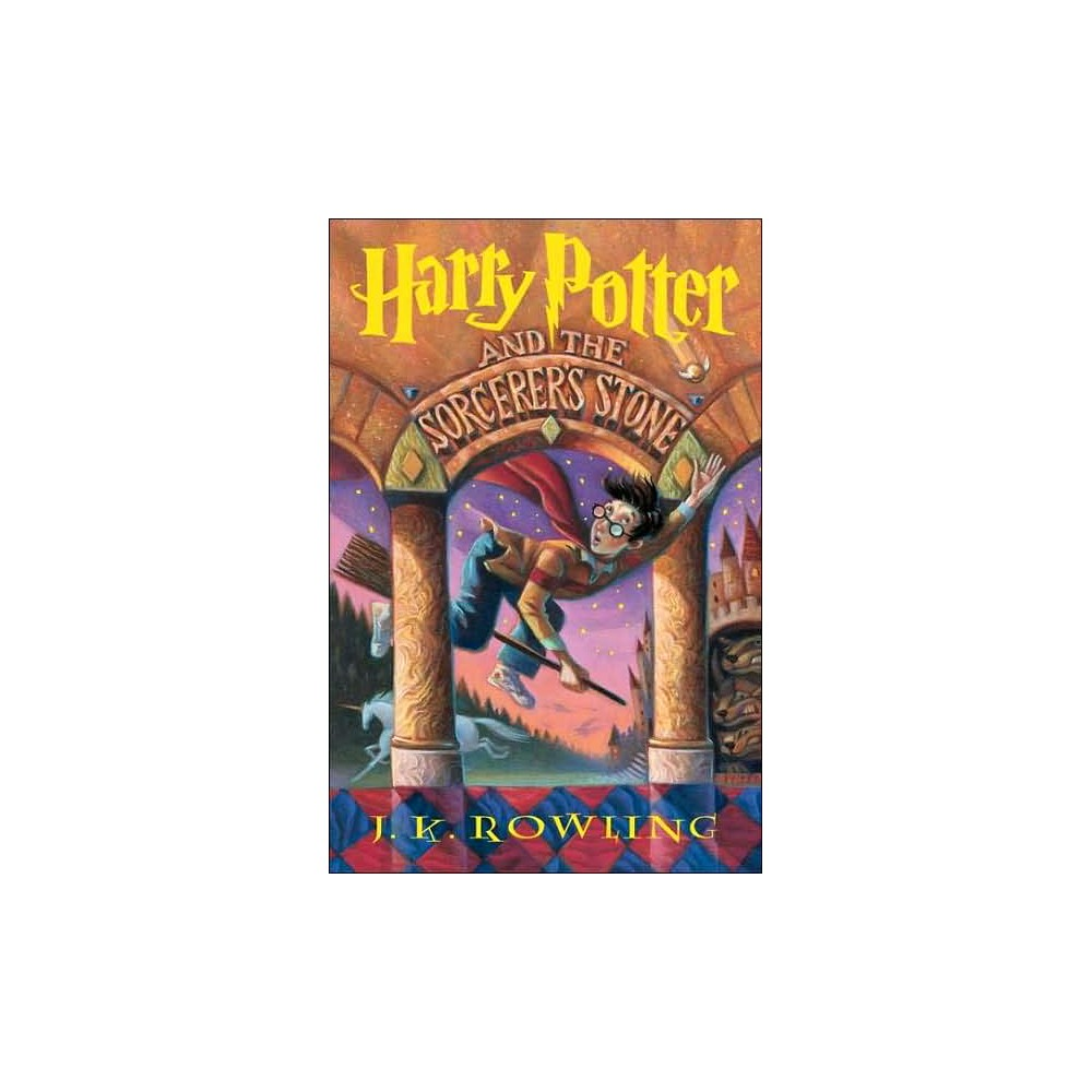 Harry Potter And The Sorcerer 39 S Stone Hardcover By J K Rowling