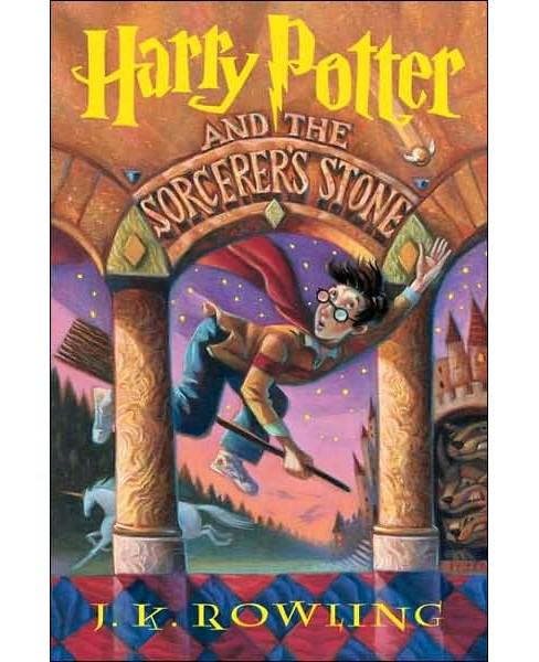 Harry Potter and the Sorcerer's Stone (Hardcover) by J. K.  Rowling - image 1 of 1